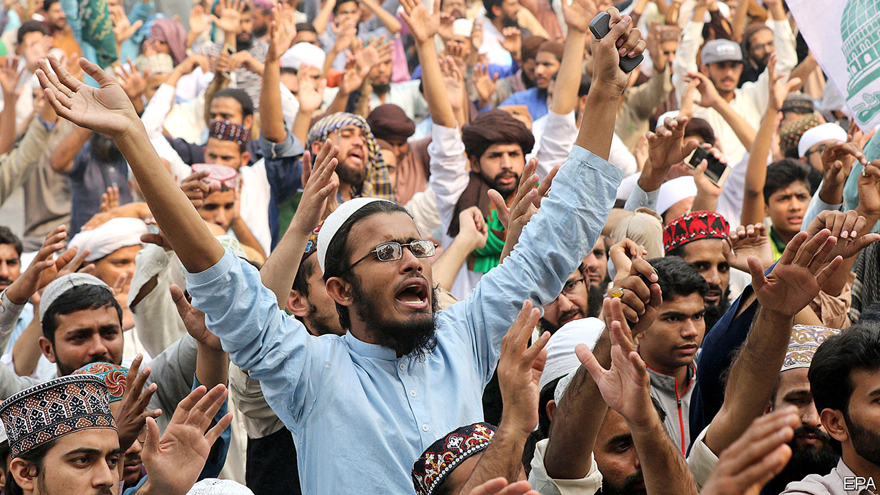 Pakistan's Supreme Court acquits a woman accused of blasphemy
