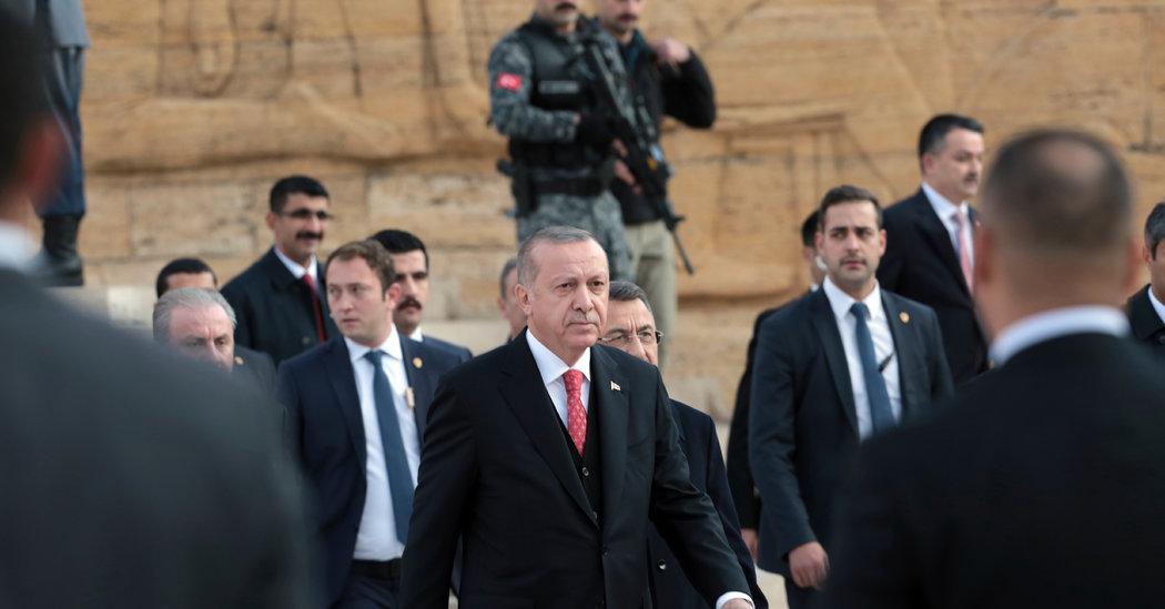 Turkey's President Says Recording of Khashoggi's Killing Given to U.S.