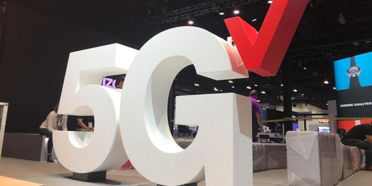"""Verizon's nationwide 5G will only be a """"small"""" upgrade over 4G at first"""