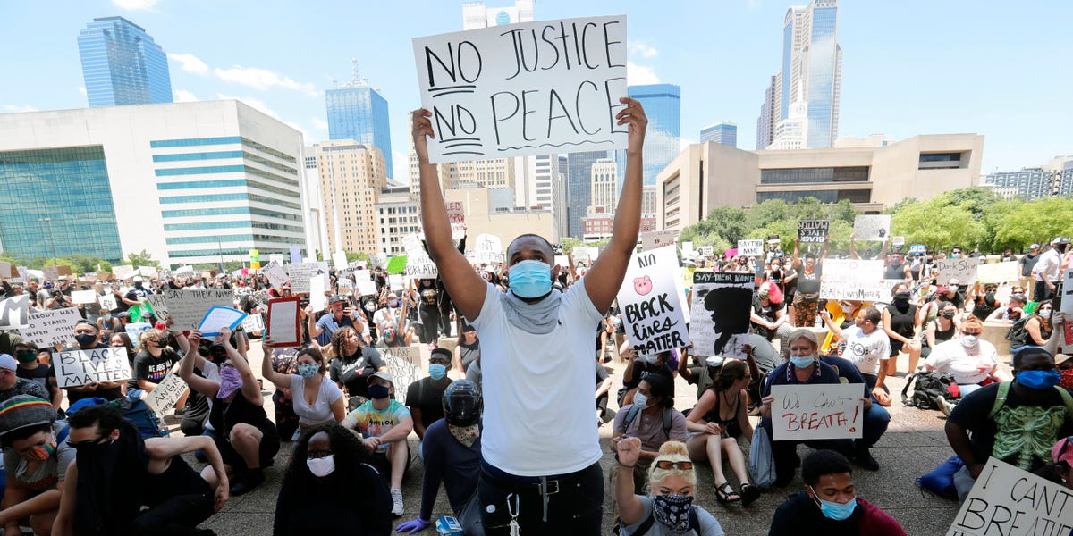 Texas declares statewide state of emergency of Floyd protests – Insider